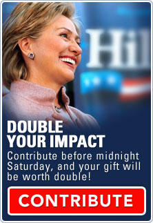 Contribute before midnight Saturday, and your gift will be worth 